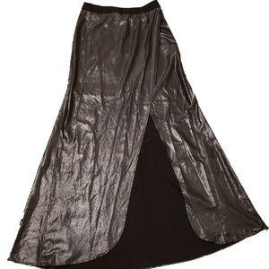 Express Black Maxi Skirt